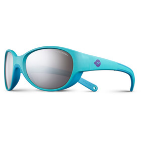 Julbo Lily Spectron 3+ Sunglasses 4-6Y Kids, turquoise/sky blue-gray flash silver